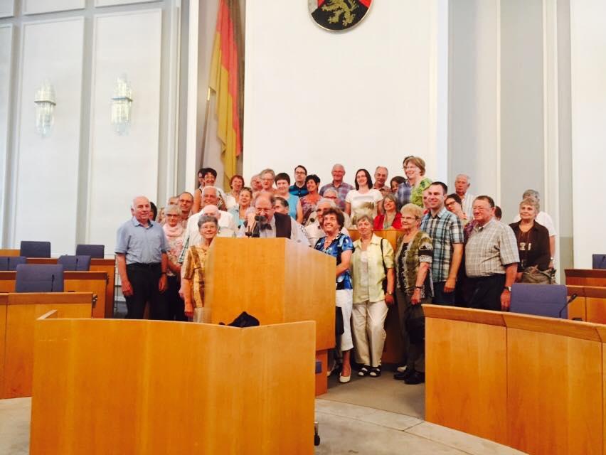 Besuch im Mainzer Landtag