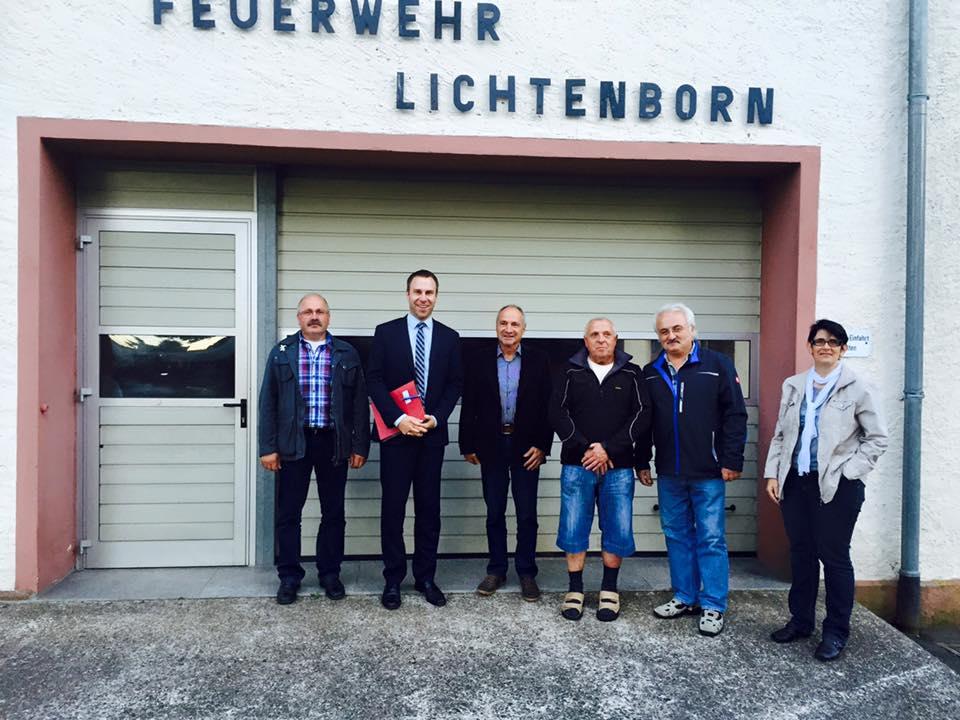 Besuch in Lichtenborn