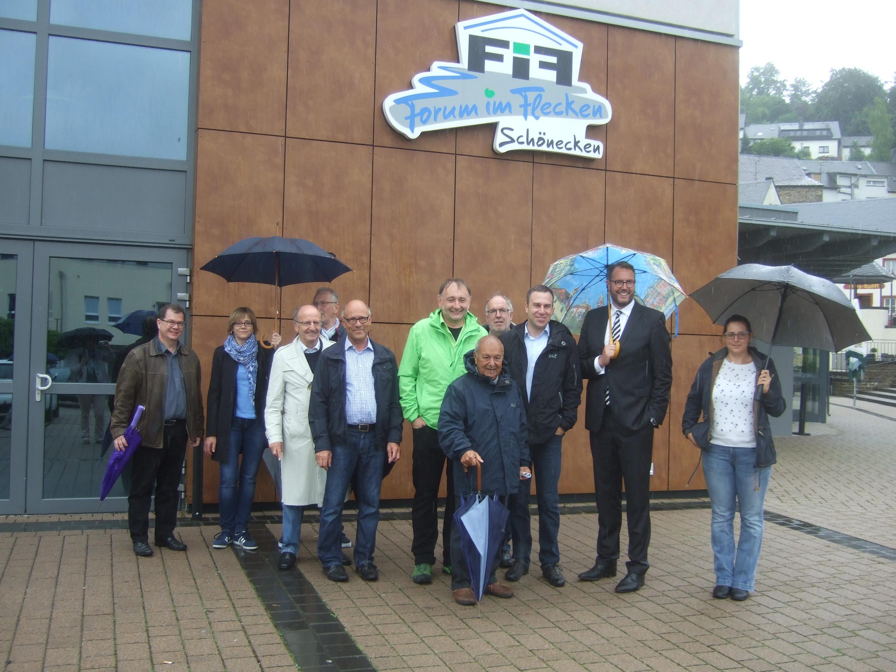 Sommertour mit Alexander Schweitzer – Besuch in Schönecken