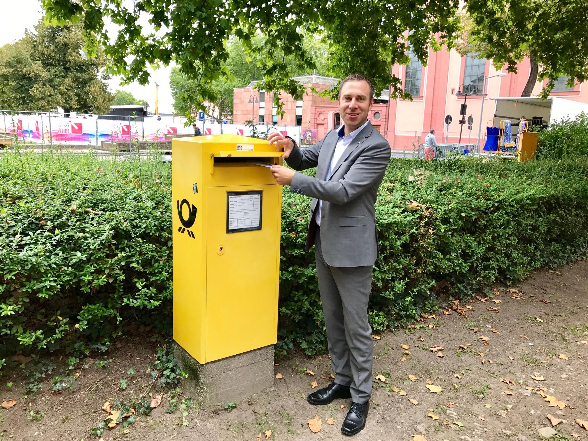 Nico Steinbach, MdL: Die Post muss auch  im Eifelkreis Bitburg-Prüm täglich ausgetragen werden