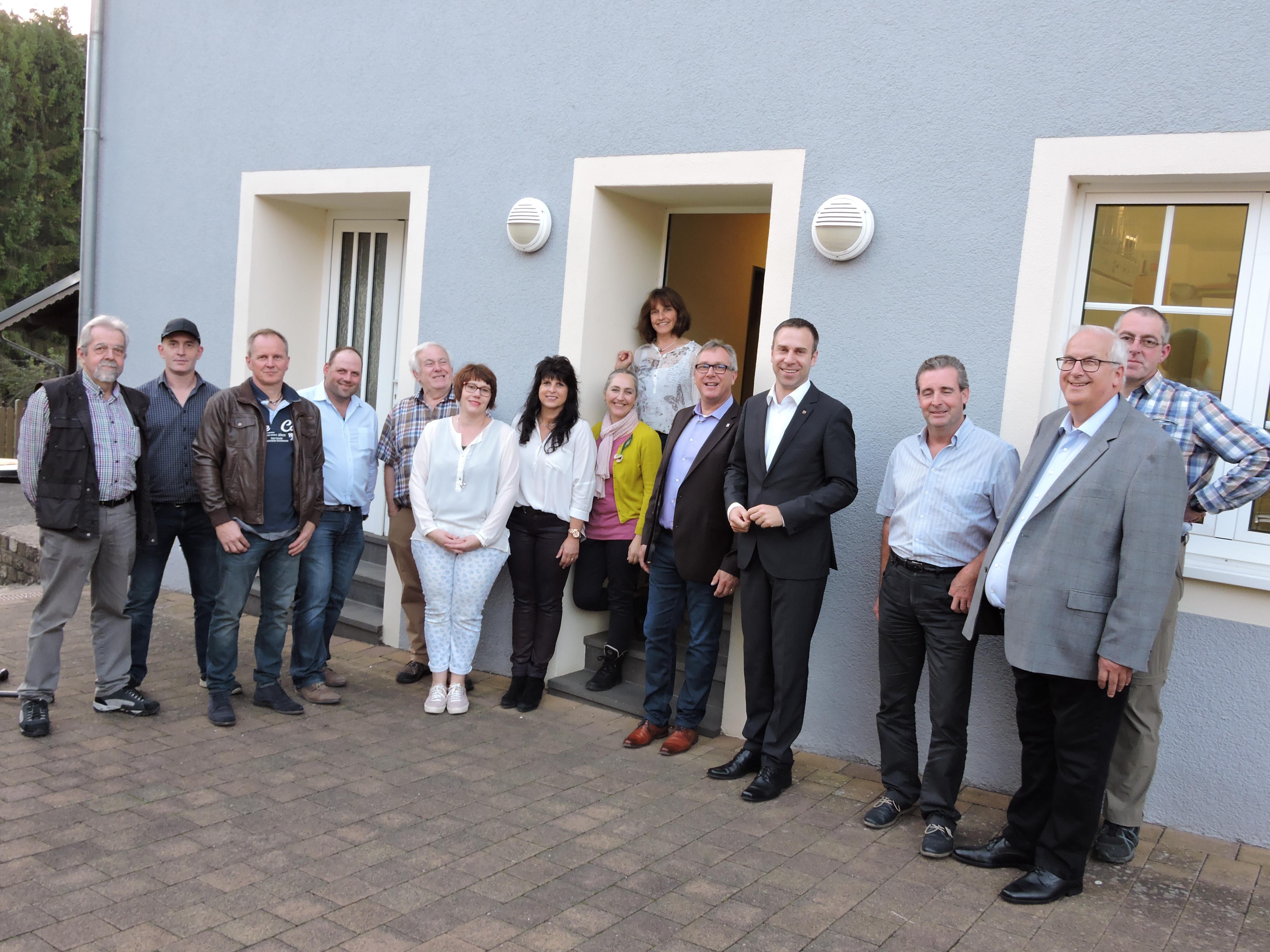 Nico Steinbach (MdL) besucht die Ortsgemeinde Menningen
