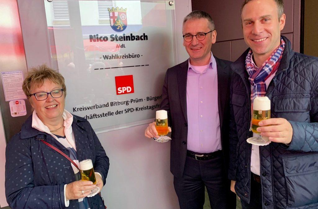 Neues SPD-Bürgerbüro in der Bitburger Fußgängerzone