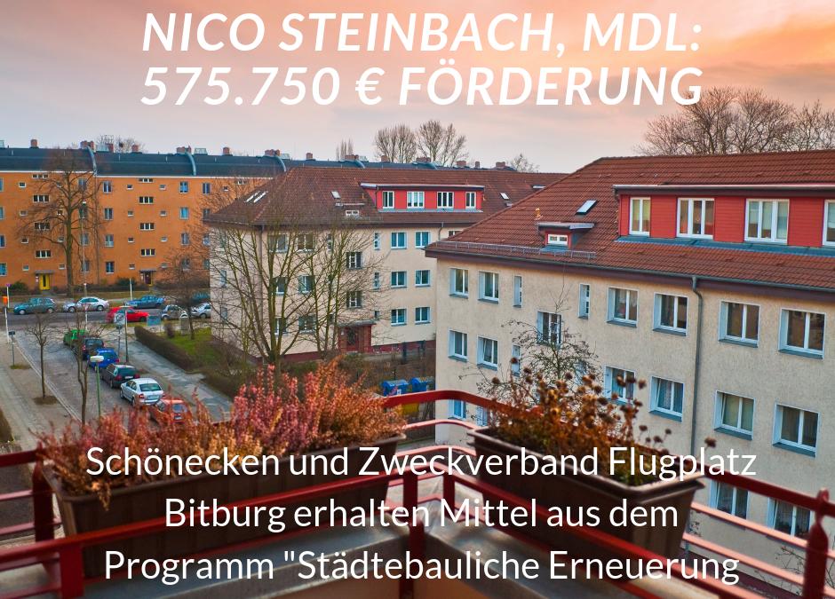 Zweckverband Flugplatz Bitburg und Schönecken erhalten weitere Förderungen