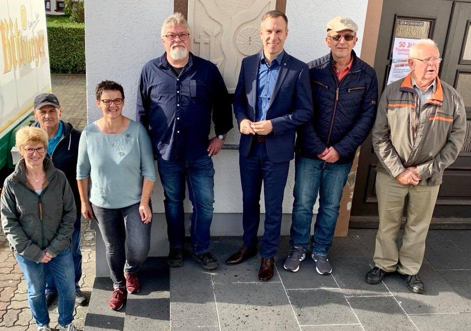 Nico Steinbach vor Ort: Besuch in Irrhausen