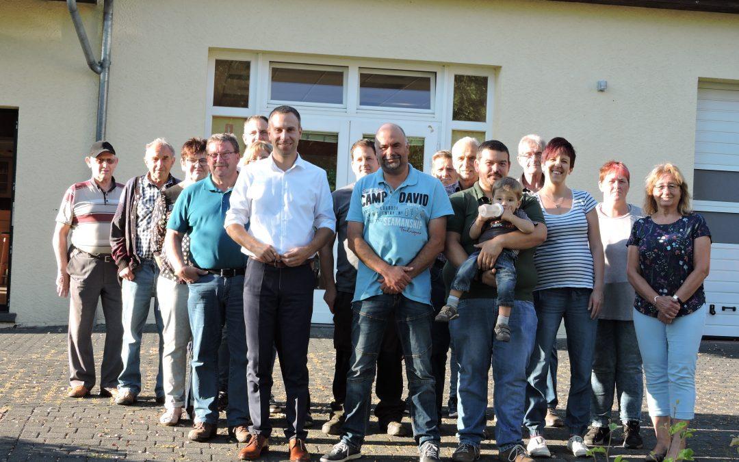 Gemeindebesuch in Kesfeld