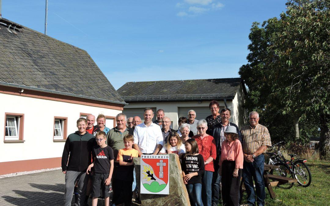 Gemeindebesuch in Preischeid