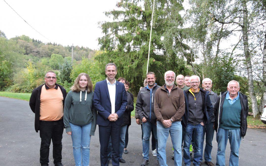 Nico Steinbach vor Ort: Besuch in Krautscheid