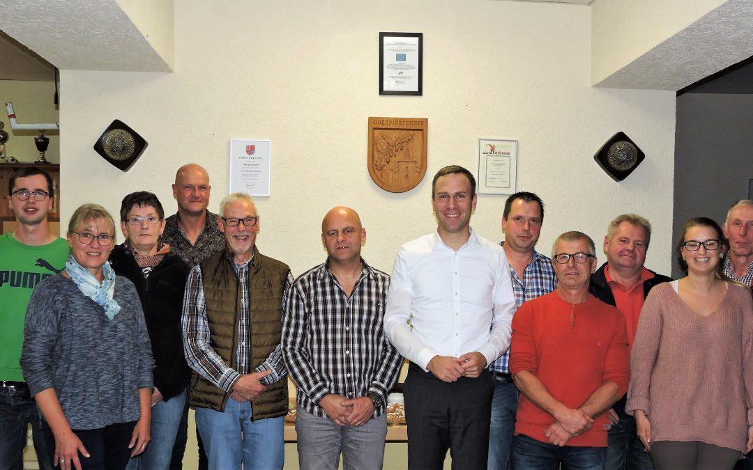 Nico Steinbach vor Ort: Besuch in Oberpierscheid