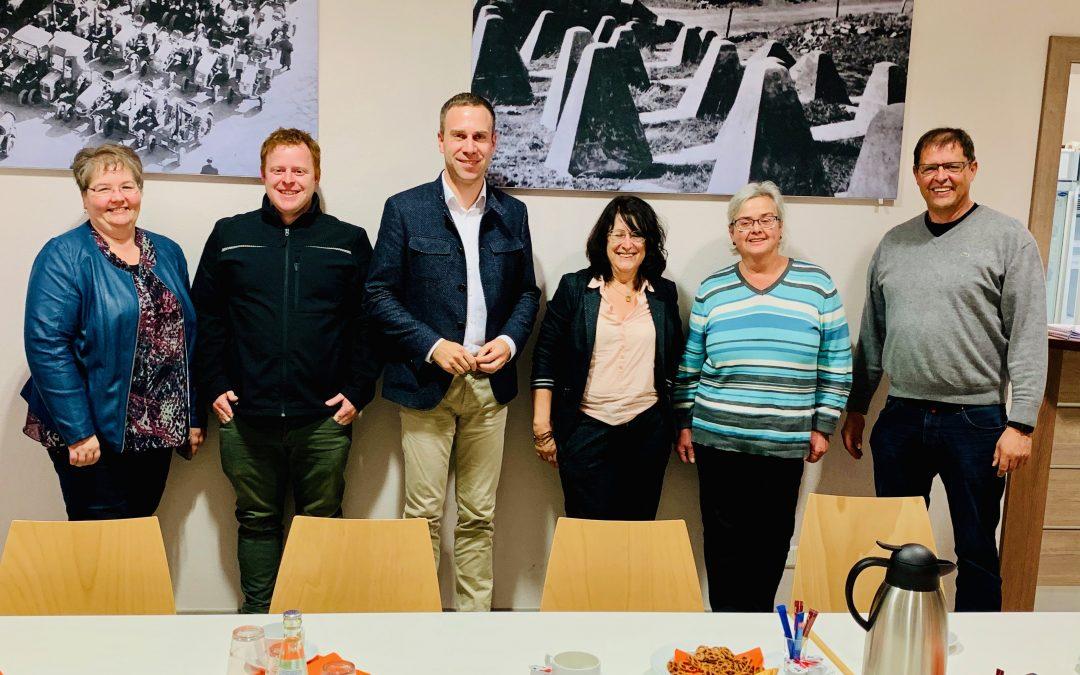 Nico Steinbach vor Ort: Besuch in Großkampenberg