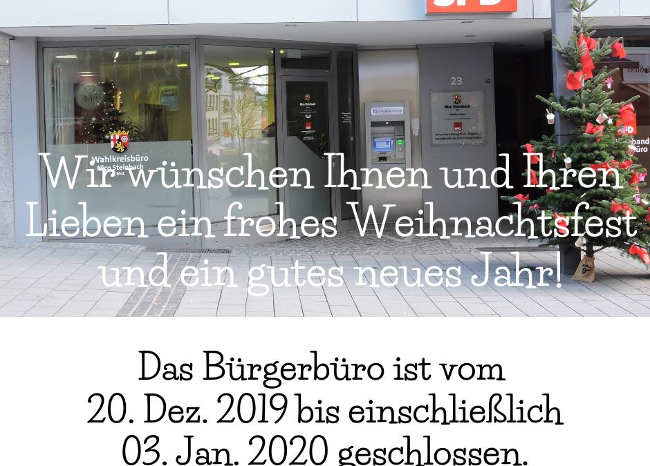 Ferien des SPD-Bürgerbüros
