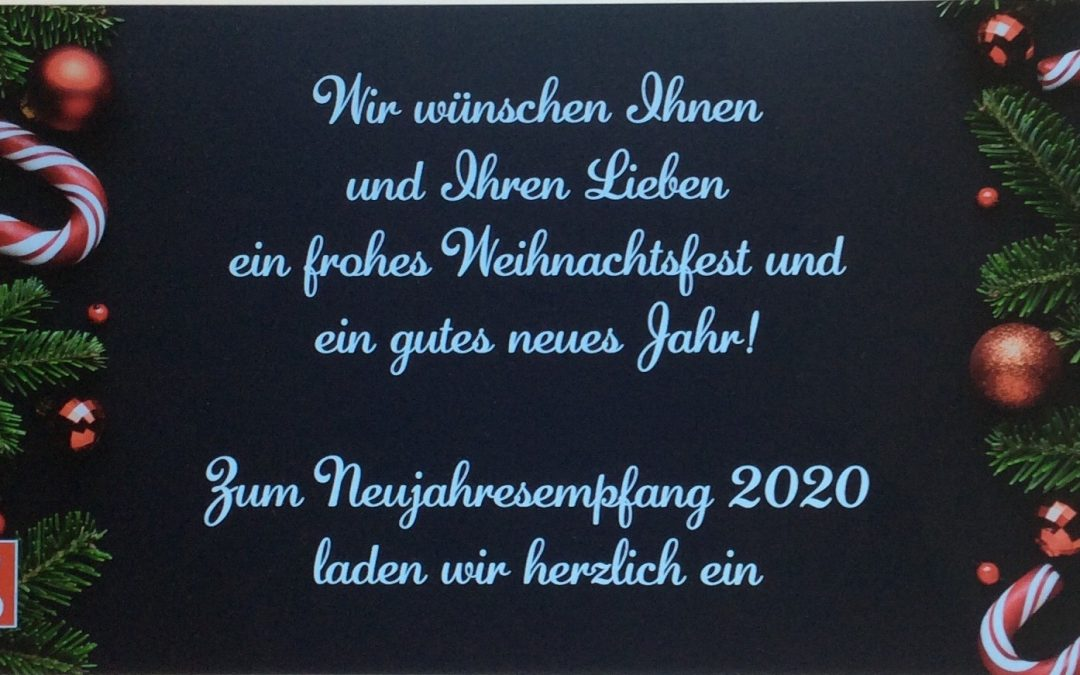 Traditioneller SPD Neujahrsempfang am 19. Januar 2020
