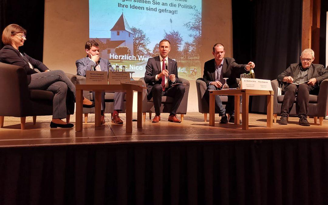 Zukunftsfähige Dörfer– was erwarten die Menschen von der Politik?
