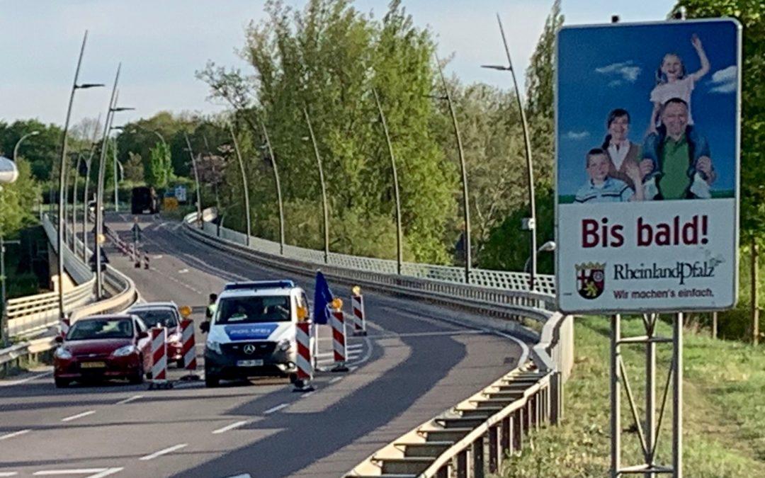 Endlich: Lockerung und Aufhebung der Grenzkontrolle zu Luxemburg