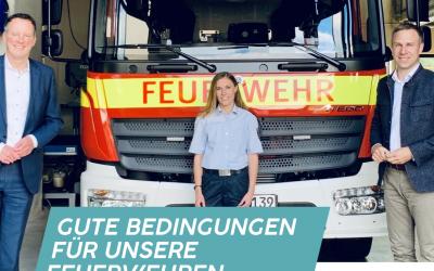 Nico Steinbach, MdL: Gute Bedingungen für unsere Feuerwehren