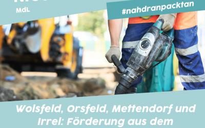 Nico Steinbach, MdL: Verbandsgemeinden Bitburger Land und Südeifel erhalten 516.000 € Zuwendung aus dem I-Stock 2021
