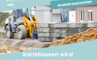 Karlshausen wird Schwerpunktgemeinde