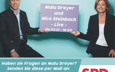 """Malu Dreyer und Nico Steinbach """"LIVE"""""""