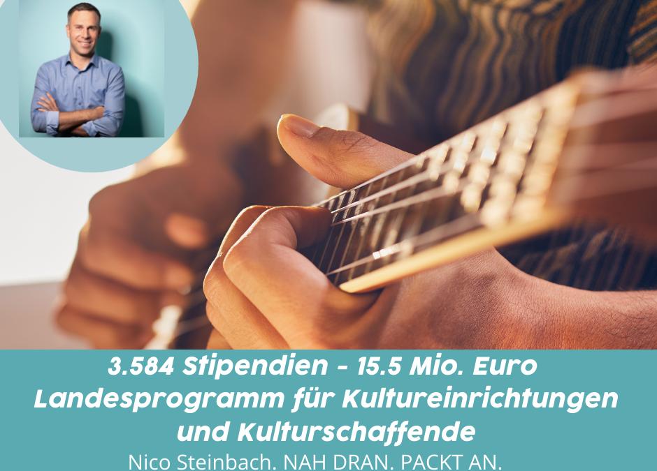 Nico Steinbach: 3.584 Stipendien bewilligt